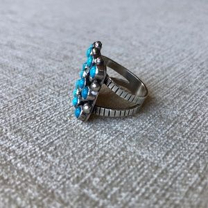 Jewelry - Chimney Butte Nuguematz turquoise ring